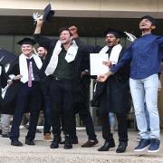 First graduating class of the International program